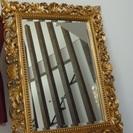 大丸で購入した ゴージャスな 鏡