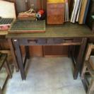 昭和レトロ書斎机