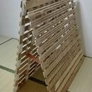 折りたたみ式 すのこベッド (取引終了)