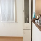 食器棚(ニトリスリムストッカー  ホワイト)