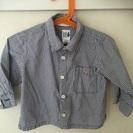 GAP ギンガムチェックシャツ 12-18