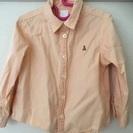 GAP オレンジシャツ 2T