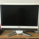 SHARP 20型AQUOSテレビ白 2009年製 LC20D50