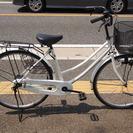 ママチャリ 26インチ 自転車 白 状態良