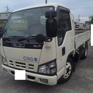 平成17年式 いすゞ エルフ 2t 標準低床 CNG仕様 スライド...