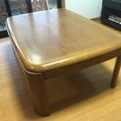 テーブル(家具調こたつ)