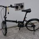 折りたたみ自転車 ブラック