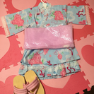 子供用♡浴衣♡甚平♡新品♡4点セット