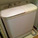 【無料】2013年製Haier二曹式洗濯機4.0kg【無料】