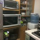 無料 食器棚とレンジ台