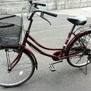 キャリー付き24インチ自転車☆ママチャリ