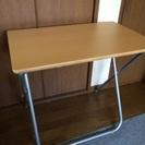 ニトリ 折り畳みテーブル ナチュラル