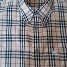 バーバリー半袖シャツ