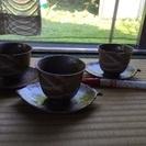 茶托&湯呑み