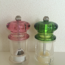 HOLAR☆手動ペッパーミル、ソルトミル