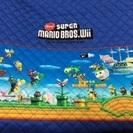 スーパーマリオ☆キルティング生地67×42 子供用バッグ1個分