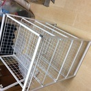 IKEA フレーム/ワイヤーバスケット