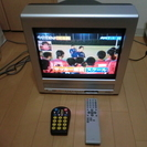 ORION 地上デジタルチューナー内蔵ブラウン管テレビ TD15F...