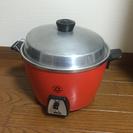 台湾の必需品。大同電鍋オレンジ。