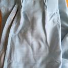 未使用☆カーテン(青2枚)