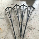 アンティーク アイアン テーブルの脚 4本