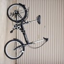 【20インチ6段ギア】折りたたみ自転車 黒