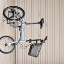 【軽量6段ギア】折りたたみ自転車 メタリックブルー