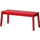 IKEA ベンチ(赤)