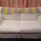 IKEA 2人掛けソファ ベージュ