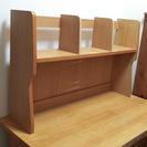 学習机用 上置き本棚