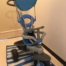 三輪車 スマートトライク 屋内保管 水色