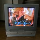 ブラウン管式ビデオ一体型テレビ