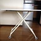 無段階高さ調節テーブル