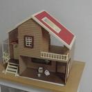 シルバニアファミリー 赤い屋根の大きな家