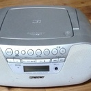 ZS-S10CP SONY製 CDラジカセ