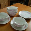 グラタン皿セット5客(グラタン皿直径11~12cm程度)