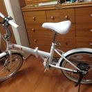 未使用品 折り畳み自転車 20インチ ZERO ONEシリーズ