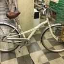 [3302]中古自転車 リサイクル自転車 シティサイクル ママチャ...