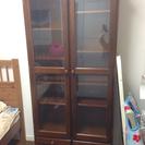 ビューローとお揃い 大塚家具 食器棚としても使える本棚