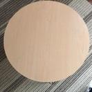 DIYにオススメ❗️ニトリの丸型折りたたみテーブル