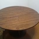 [交渉中]飛騨家具・円形ダイニングテーブル