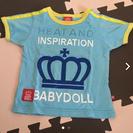 ベビードール Tシャツ 80