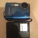 防水デジタルカメラ u TOUGH-3000 ブルー