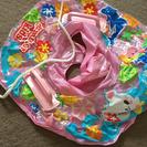 ピンク浮き輪