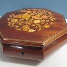 【REUGE】リュージュ◆オルゴール◆イタリア製◆木箱◆小物入れ