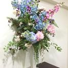 豪華な造花