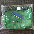 【未使用】クロックス ショルダーバッグ 緑