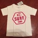 (Hawaii)ハッピーハレイワのキッズTシャツ「カート柄」