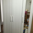 IKEA 大型ドレッサークローゼット BRIMNES 1年半使用
