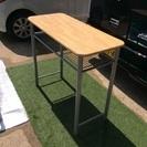 《中古品》テーブル、棚